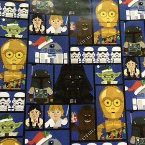 STAR WARS Gift Wrap Wrapping Paper 1 Roll NEW